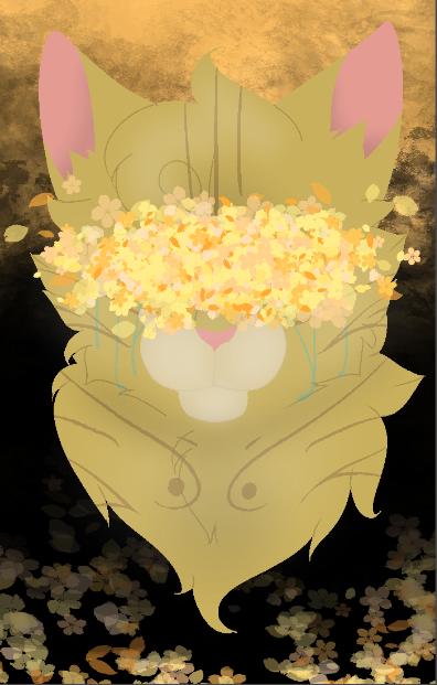 Golden flowers by tinycloud247