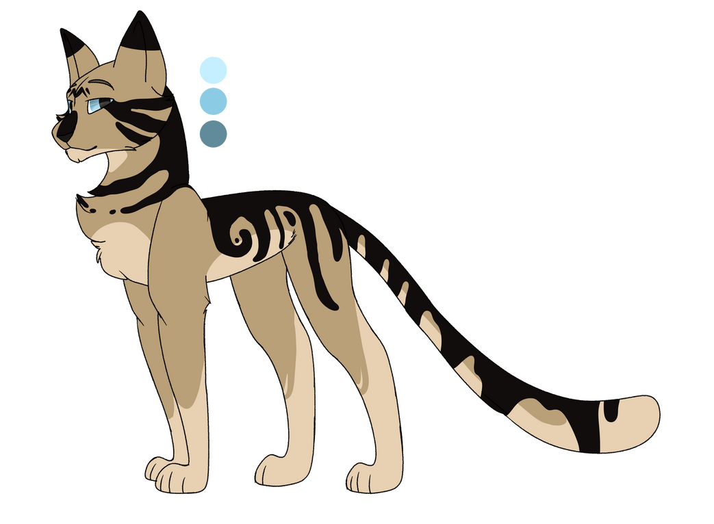 Longtail Ref by tinycloud247