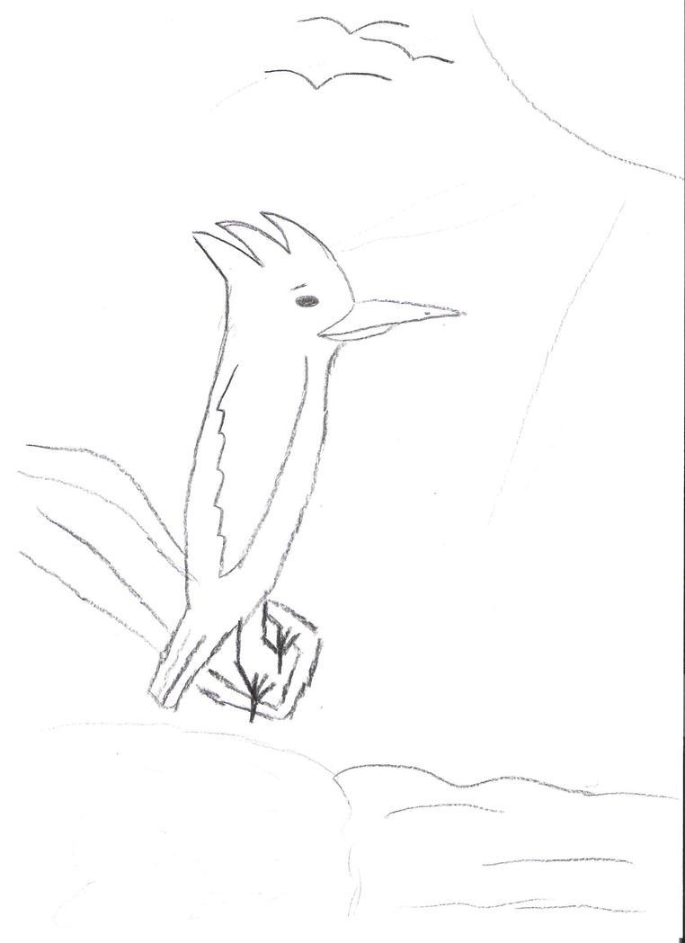 kleurplaat ijsvogel by frankynr1 on deviantart