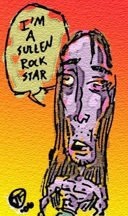 SULLEN ROCK STAR by fountainspen