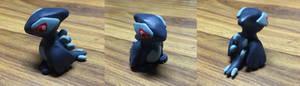 Chibi Shadow Lugia Figurine