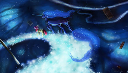 Luna in the dream world