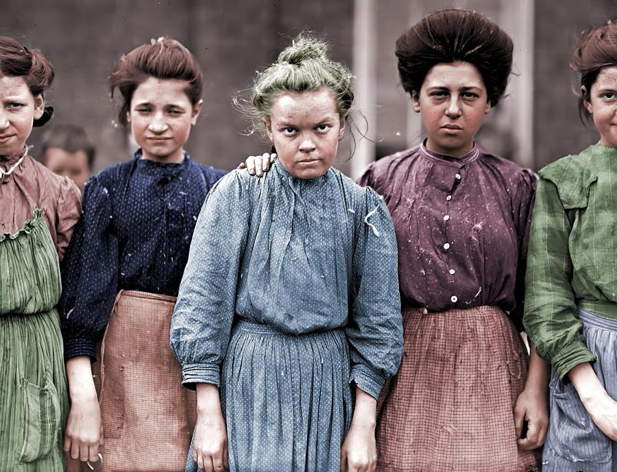 1909 Bibb Mill Girls by Calpin69