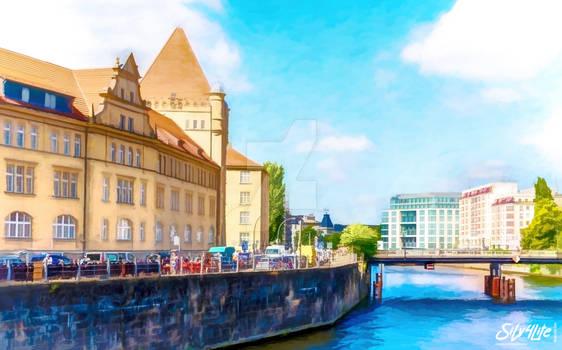 Berlin River - Paint