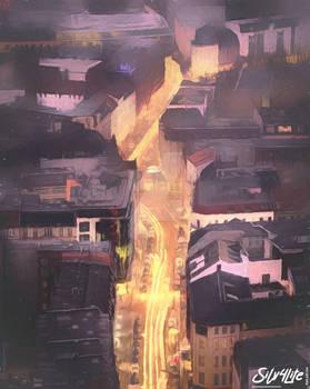 Berlin Skyline - Paint