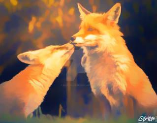 Fox Love - Paint