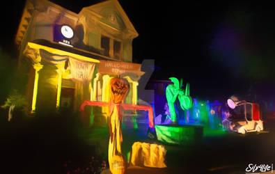 Halloween Houses 2021 - Paint