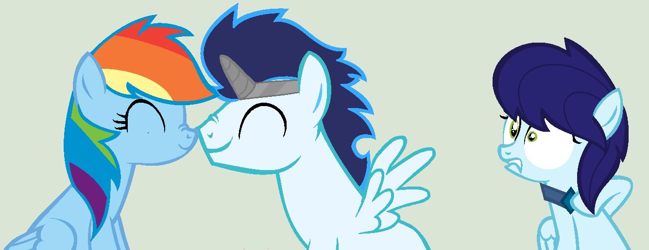 My Little Pony Rainbow Dash And Soarin Love Story