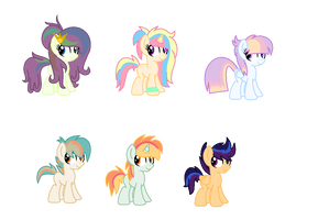 JUST Adoptables by SapphireArtemis