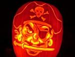 Pirate pumpkin by kenklinker