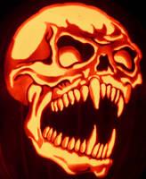 Fang Skull by kenklinker