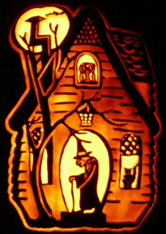 Witch's house dark by kenklinker