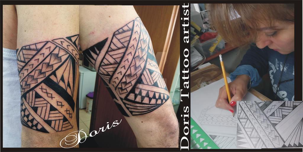 Suficiente maori tattoo bracelet by doristattoo on DeviantArt CL91