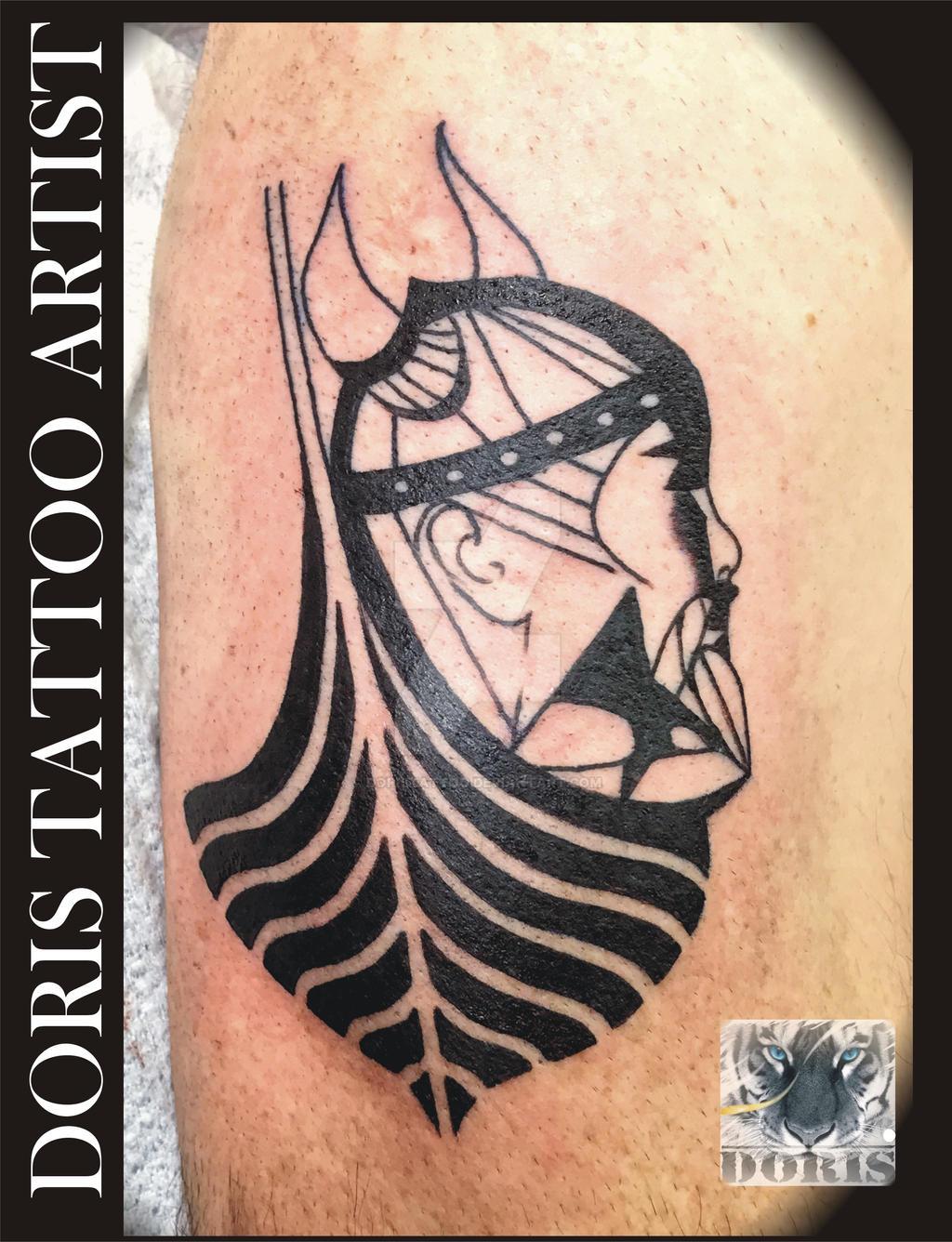 Viking Ship Symbol Tattoo By Doristattoo On Deviantart