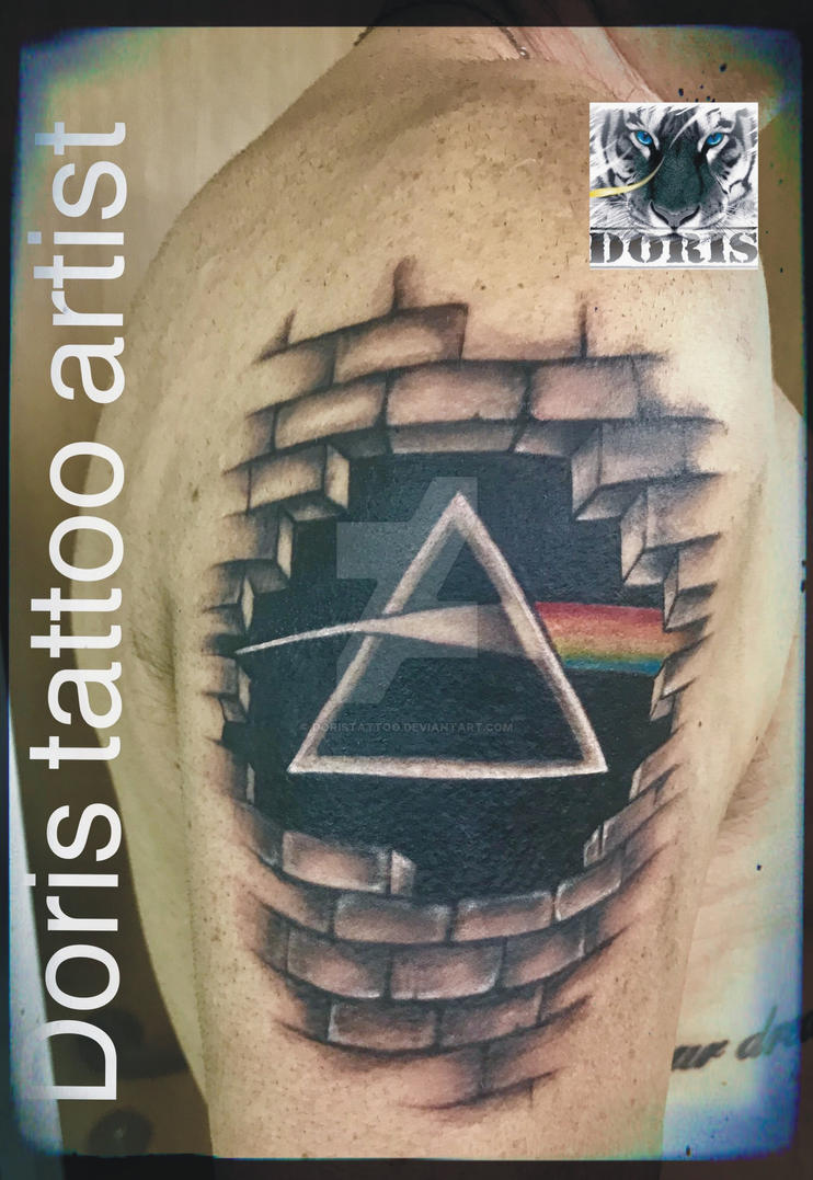 Pink Floyd Arm Tattoo By Doristattoo On Deviantart
