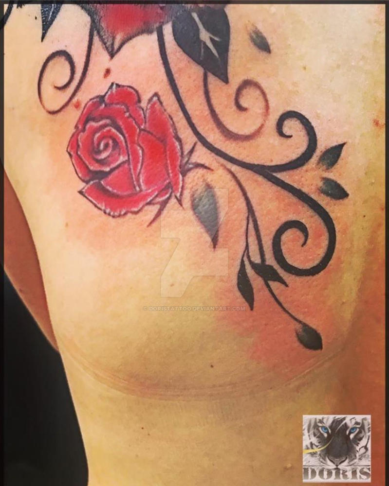 6d2d16693 Roses tattoo cover up by doristattoo on DeviantArt