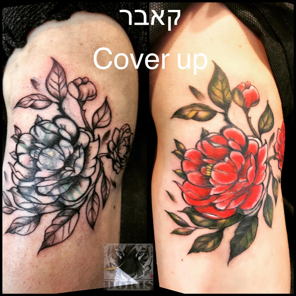 Flowers Tattoo Arm Cover Up By Doristattoo On Deviantart