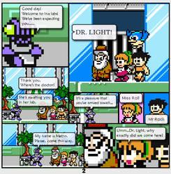 Megaman Dissonance page 2