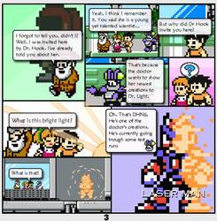 Megaman Dissonance page 3