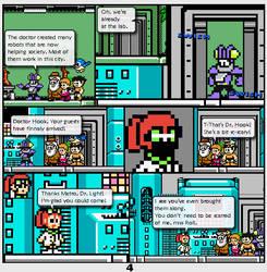 Megaman Dissonance page 4