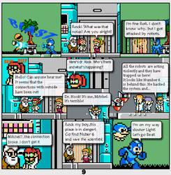 Megaman Dissonance page 9