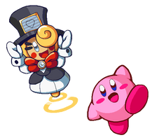 Kirby and Fufu by Blackhook