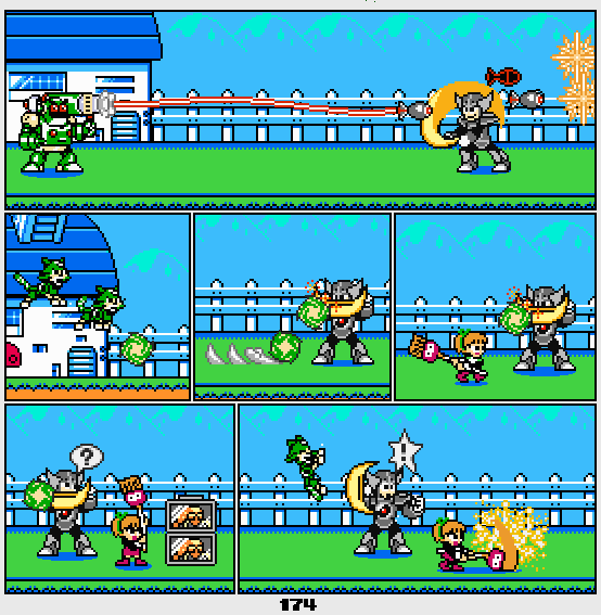 Megaman Dissonance page 174 by Blackhook