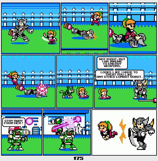Megaman Dissonance page 175 by Blackhook