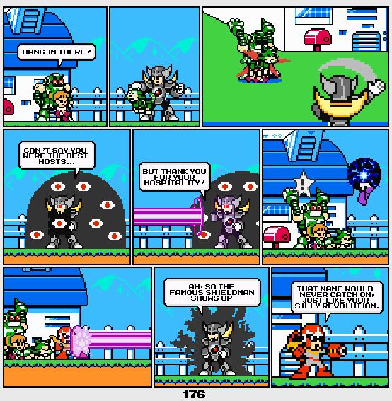 Megaman Dissonance page 176 by Blackhook