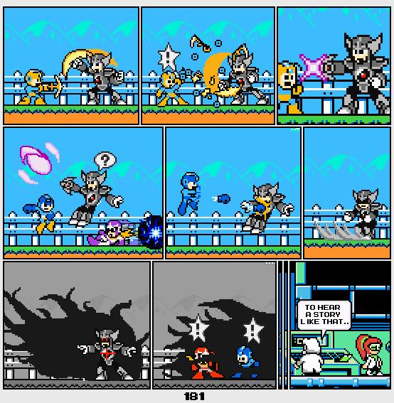 Megaman Dissonance page 181 by Blackhook