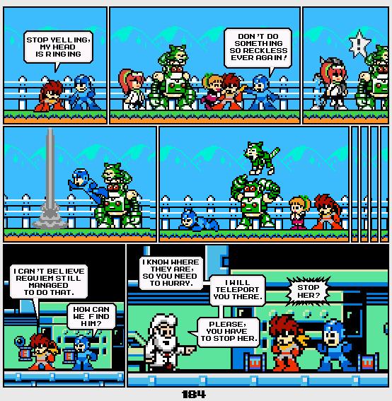 Megaman Dissonance page 184 by Blackhook
