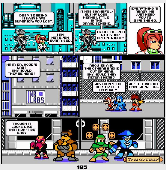 Megaman Dissonance page 185 by Blackhook
