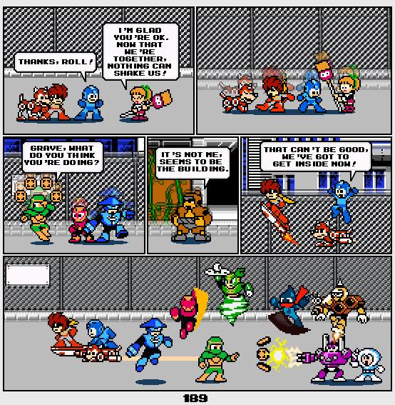 Megaman Dissonance page 189 by Blackhook