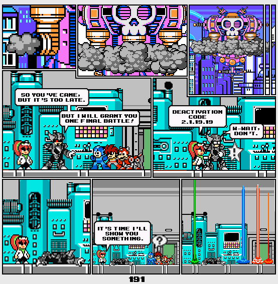 Megaman Dissonance page 191 by Blackhook