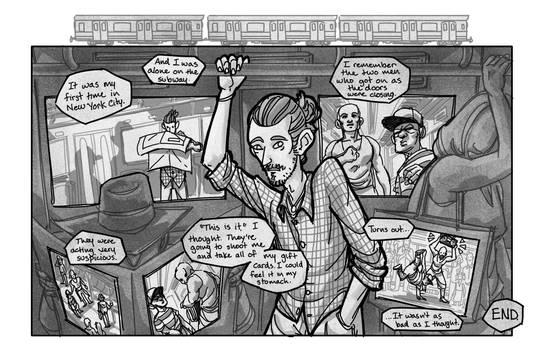 Train Comic