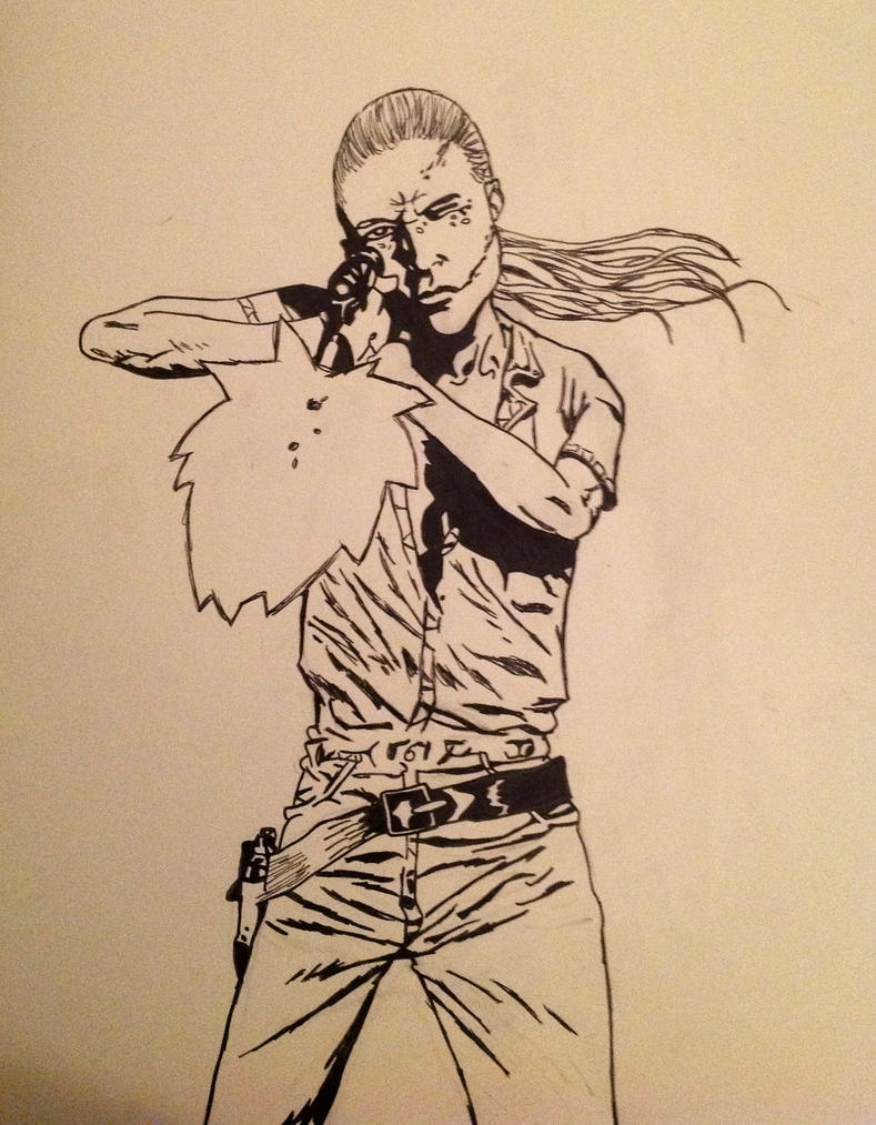 Andrea: the walking dead (comics) by HENRIXZZ on DeviantArt