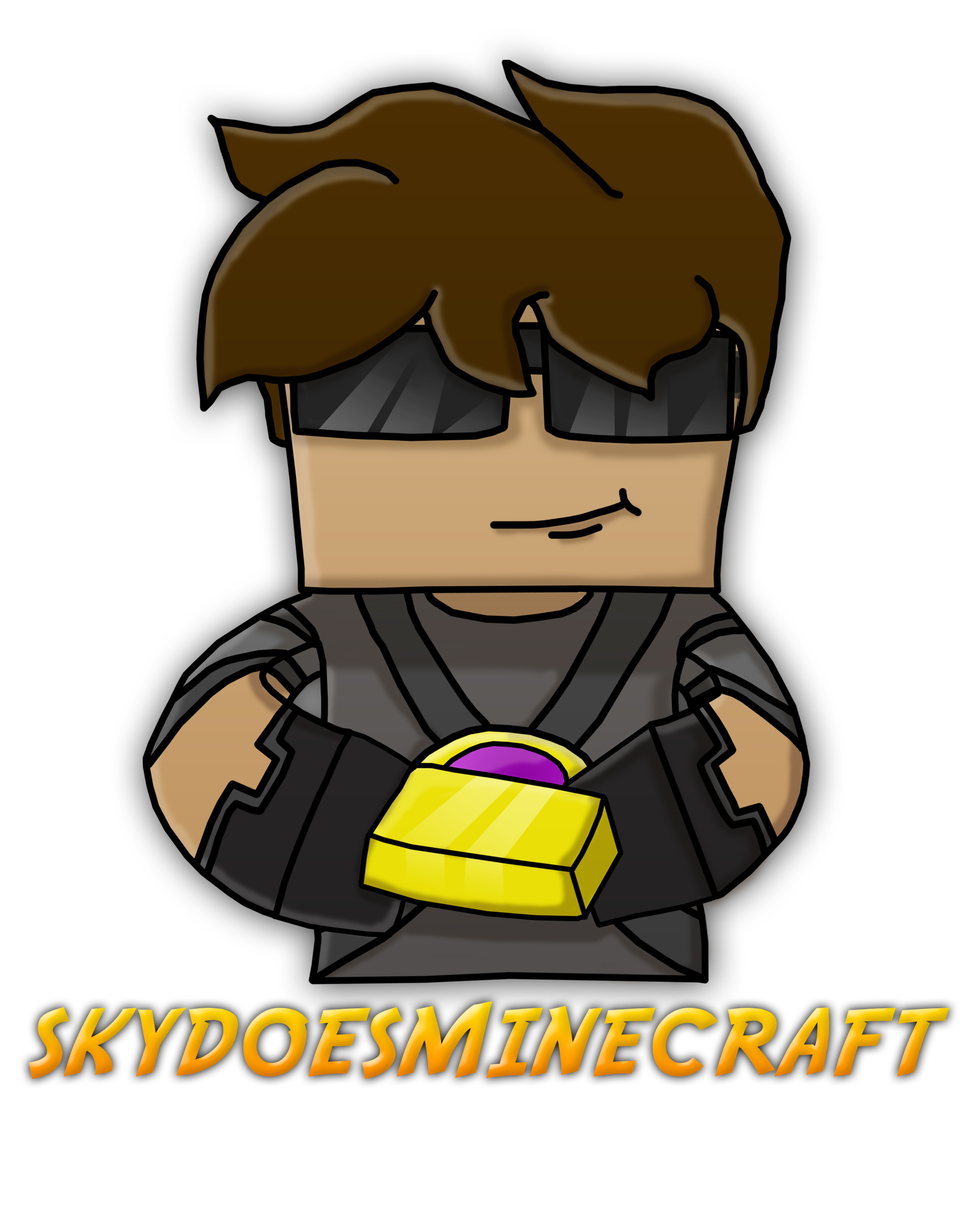 Skydoesminecraft!! by Gameaddict1234 on DeviantArt