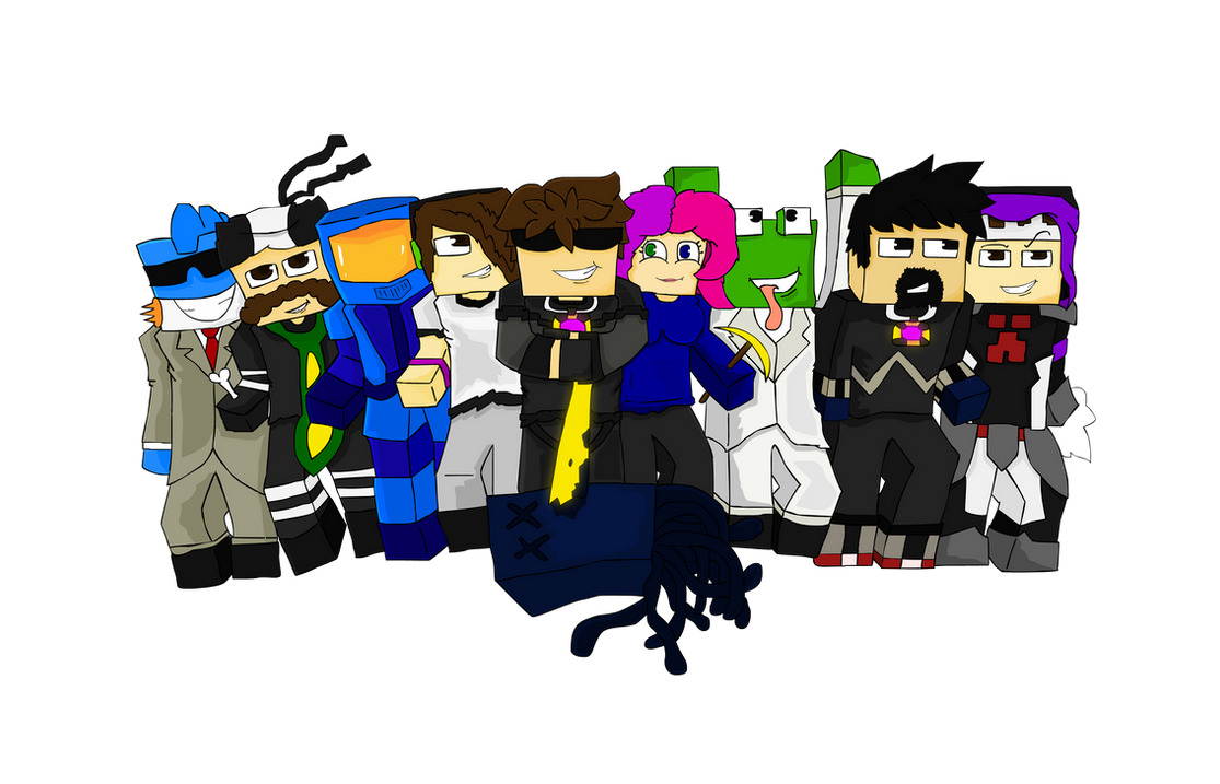 SkydoesMinecraft and Friends! by StreetViper