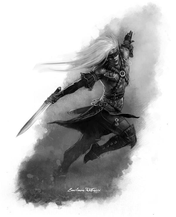 Dancer Rogue by Liarath