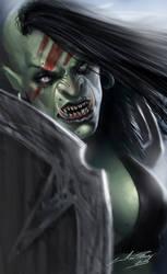 Female Orc Warrior