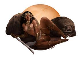 Dejah Thoris by Liarath