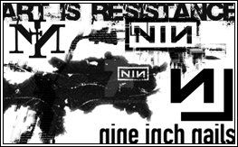 NINE INCH NAILS BRUSHES by egoraver
