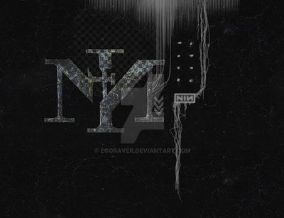 NIN LOGO - SCRATCHY by egoraver