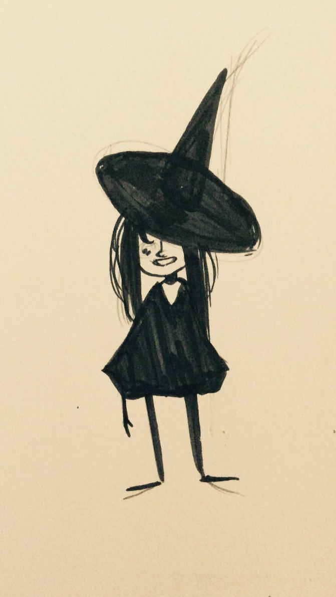 Little Witch Daughter by silver--fish
