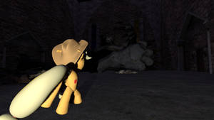 (Gmod) (MLP Vore) Monster in the castle (7)