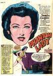 Phantom Lady 1940's - Created by Arthur Peddy