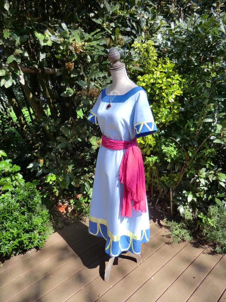 Marin dress from Link's Awakening by Ilora24