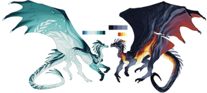 Water and Lava by Ninxeas
