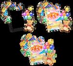 Aikatsu! - Kaede Eyecatch Card Render