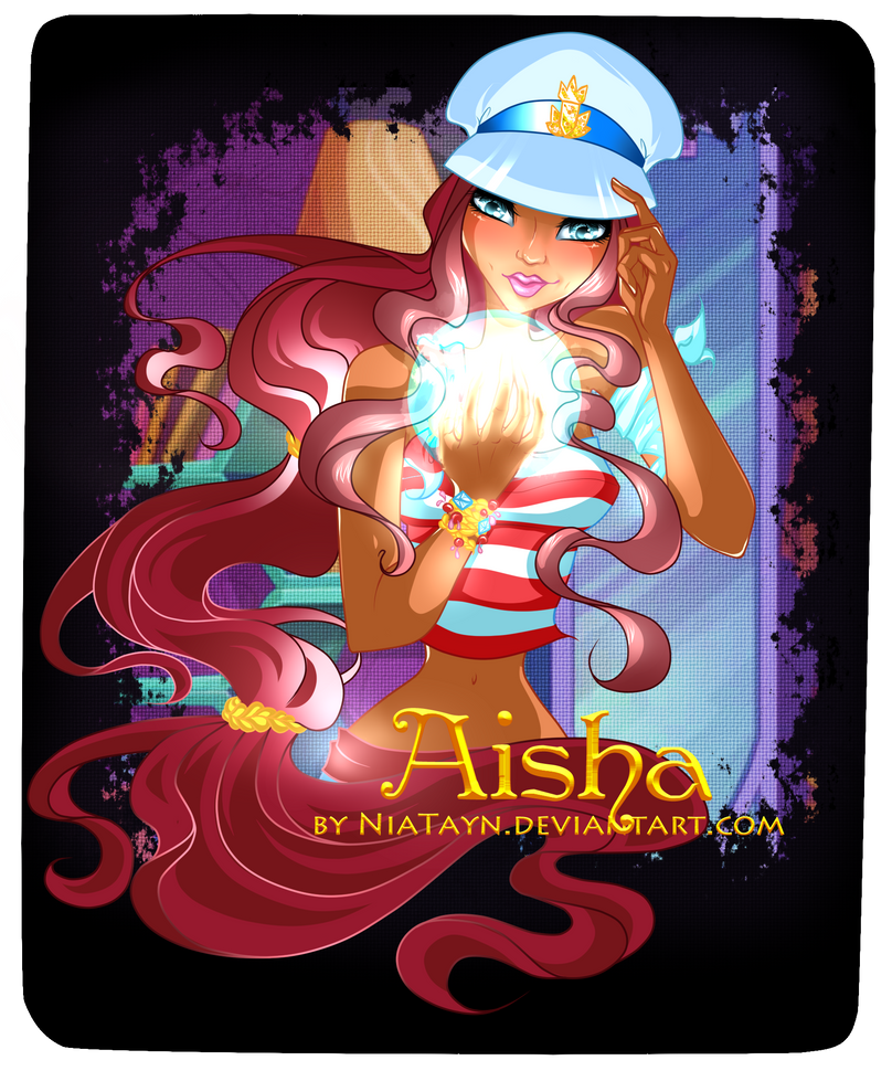 Aisha (sea costume) by NiaTayn